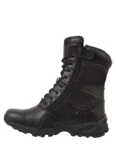 Rothco Forced Entry Deployment Boot With Side Zipper (Sort, 43 EU / 10 US)