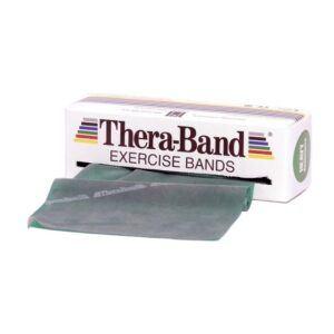 Thera-Band Træningselastik Bånd Level 3 Hård Grøn 45,5m