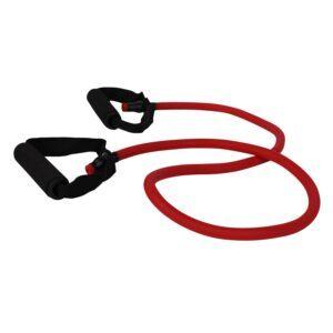cPro9 Latex Exertube Træningselastik Niveau 3 Hård Rød