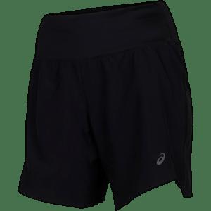 "Asics - Road 7"" Shorts - Sort - Dame"