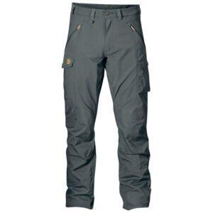 Fjällräven Mens Abisko Trousers, 44, DUSK/042