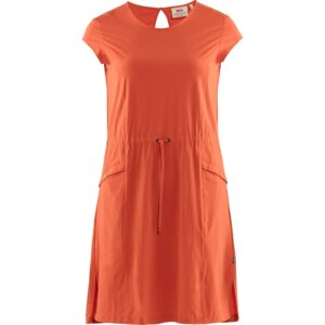 Fjällräven Womens High Coast Lite Dress, L, ROWAN RED/333