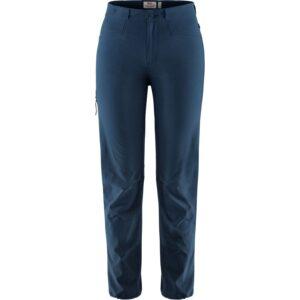 Fjällräven Ws High Coast Lite Trousers, 34, NAVY/560
