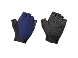 Gripgrab World Cup Padded Short Finger Gloves 2 - Cykelhandsker - Navy - Str. S