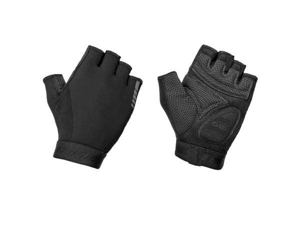 Gripgrab World Cup Padded Short Finger Gloves 2 - Cykelhandsker - Sort - Str. S