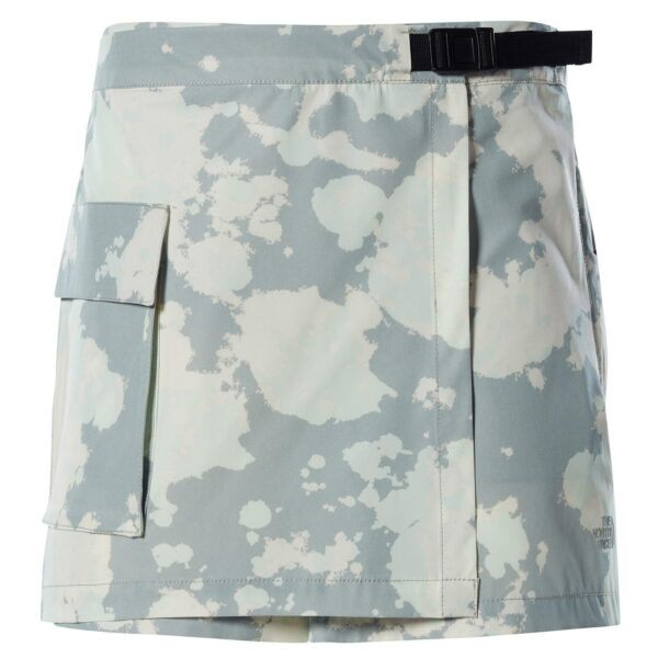 The North Face Womens Paramount Skort, 8, WROUGHT IRON SURREAL SKY PRINT