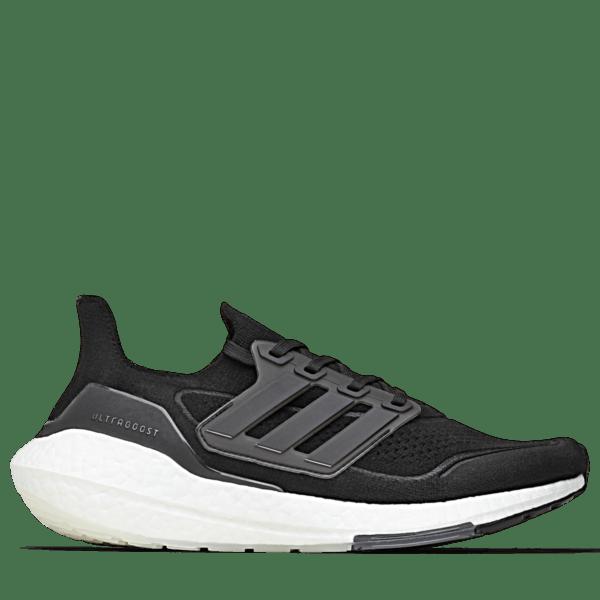 adidas - Ultra Boost 21 - Sort - Dame