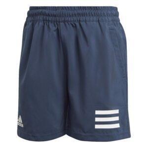 Adidas Boys Club 3-Stripes Shorts Mørkeblå