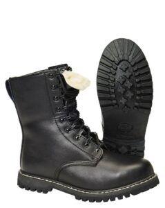 Brandit Combat Støvler m. For (Sort, 40)