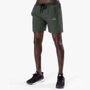 ICANIWILL Workout 2-in-1 Shorts Dk Green Men