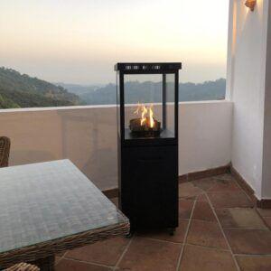 Muztag Mallorca design terrassevarmer til gas