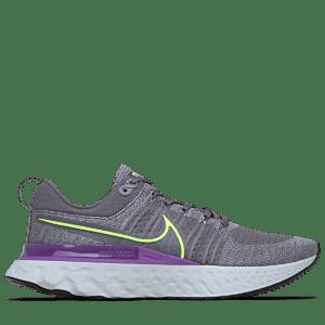 Nike - React Infinity Run Flyknit 2 - Grå - Herre