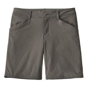 "Patagonia Womens Quandary Shorts - 7"", 8, FORGE GREY"