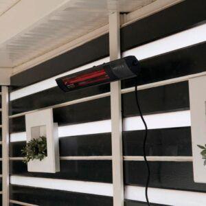 Royal Diamond 2500 watt sort væg terrassevarmer
