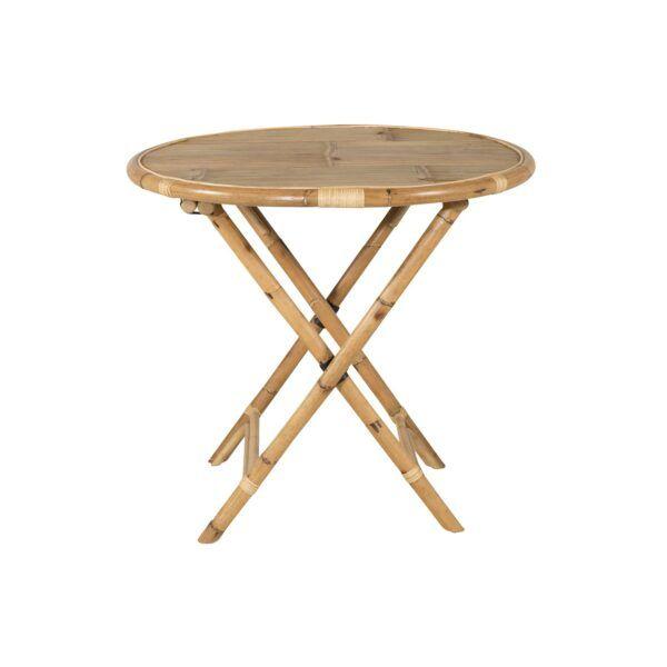 Venture Design Cane cafebord bambus Ø80 cm