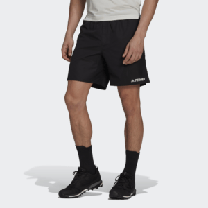 adidas - Terrex Primeblue Trail Running Shorts - Sort - Herre
