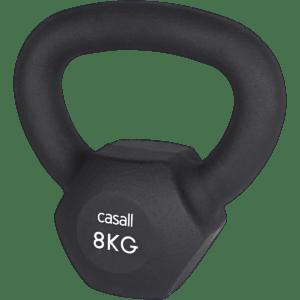 Casall - Classic Kettlebell 8kg - Sort