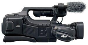 GY-HM70E håndholdt videooptager Skulder videokamera 12 MP CMOS Fuld HD Sort