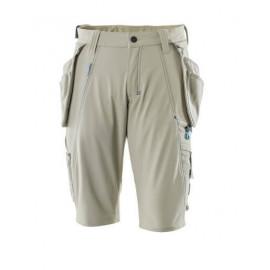 MASCOTAdvanced - Shorts,aftageligehængelommer,stretch - Lys Khaki