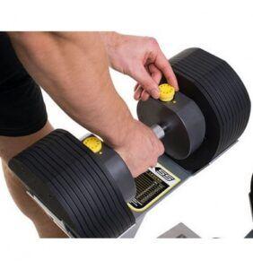 MX55 justerbare håndvægte inkl. stativ