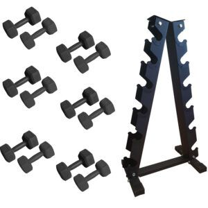 ODIN Basic Sæt PAKKETILBUD 3-8kg (6 håndvægte + rack)