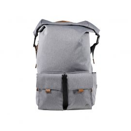 """PKG Concord Rolltop Backpack for up to 16"""" laptops Light Gray"""