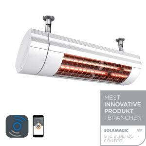 Solamagic el-terrassevarmer 2000ECO+ pro BTC - hvid