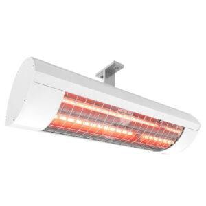 Solamagic el-terrassevarmer Basic2000 HeLeN IR-teknologi - hvid