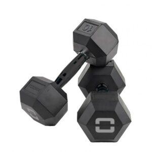 Toorx Hexagon Gummi Håndvægt - 32,5 kg