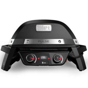 Weber® PULSE 2000 elektronisk elgrill sort