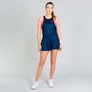 BIDI BADU Faye Tech Jumpsuit (3 In 1) Playsuit - Mørkeblå, pink