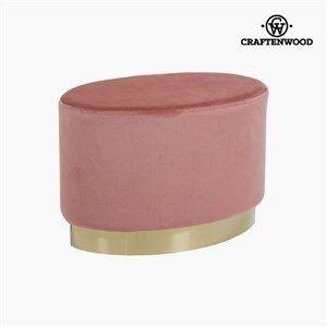 Taburet (52 x 35 x 35 cm) Pink