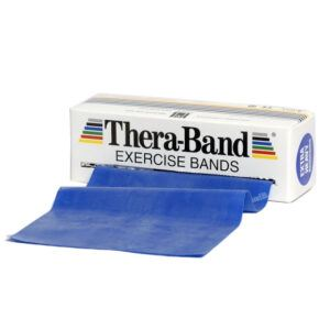Thera-Band Træningselastik Bånd Level 4 Ekstra Hård Blå 5,5m