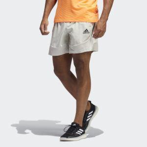 adidas - AEROREADY 3-Stripes Slim Shorts - Beige - Herre