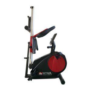 Romaskine og liggende motionscykel AsVIVA 2 i 1 RA6 Bluetooth