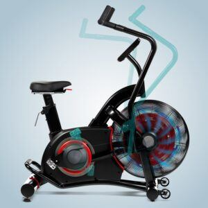 Træningscykel & ergometer AsVIVA F1 Air-Bike Pro