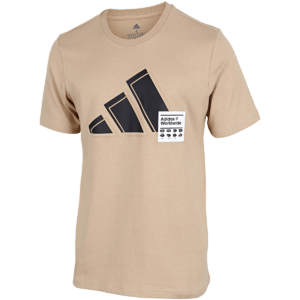 adidas - Short Sleeve Graphic T-Shirt - Beige - Herre