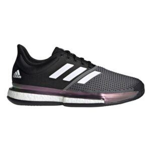 Adidas SoleCourt M Clay Primeblue Core Black/Cloud White/Grey Five