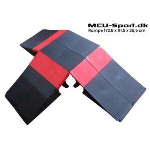 MCU-Sport Skate Rampe sæt 172,5x111,5x25,5 cm